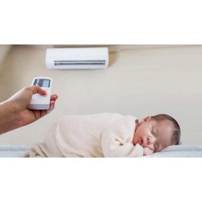 Cách dùng điều hoà cho trẻ sơ sinh